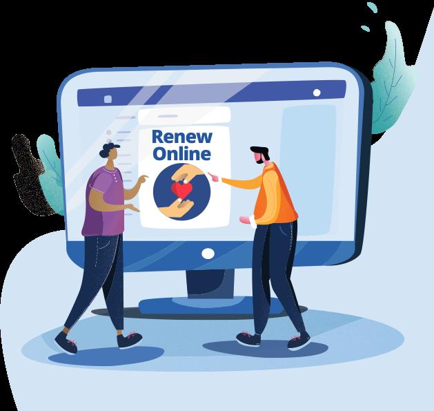 file initial or renewal online