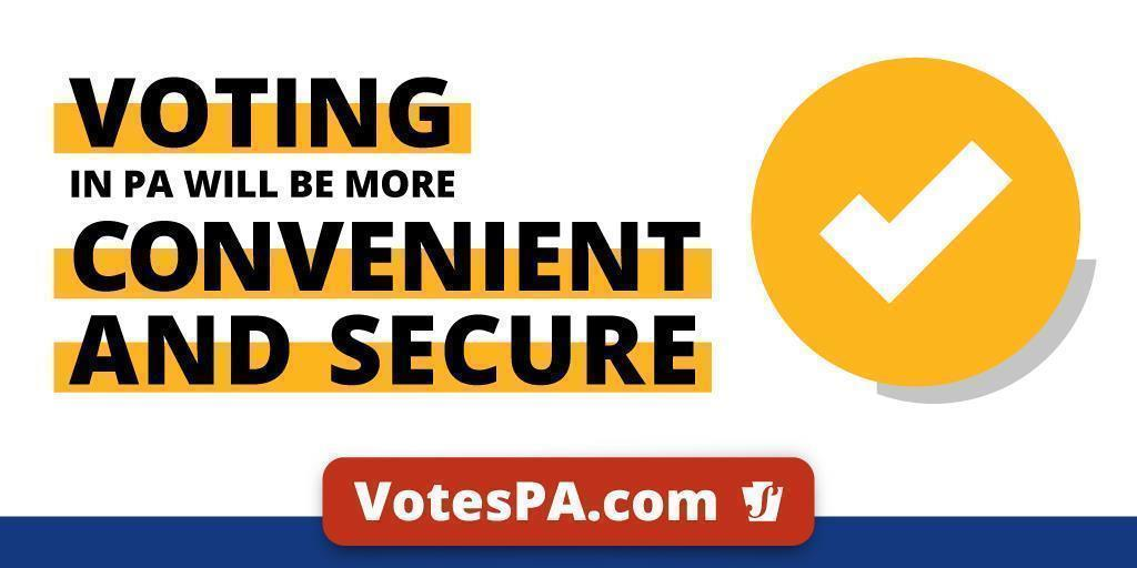 Voting in Pennsylvania Will Be More Convenient and Secure in 2020